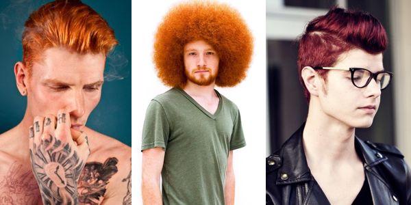 Άνδρες με κόκκινα μαλλιά!!!