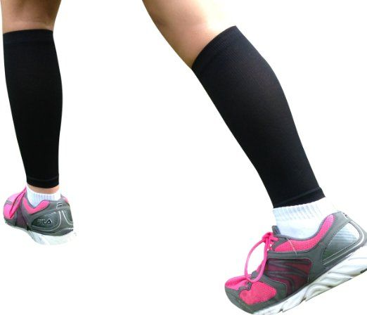 Amazon.com: Calf Compression Sleeve - BeVisible Sports Men and Women's Leg Compression Sleeves - True Graduated Compression - Calf Guard - G...