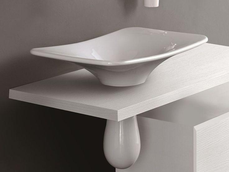 FORMOSA | Countertop Washbasin. Washbasin DesignBathroom Fixtures OlympiaCountertopBathroom IdeasMiamiPowder ...