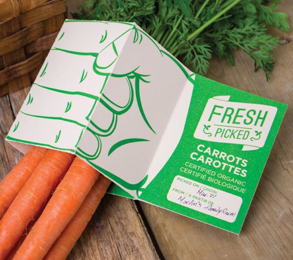 This Organic Packaging Design Emphasizes the Farm of Origin #food trendhunter.com