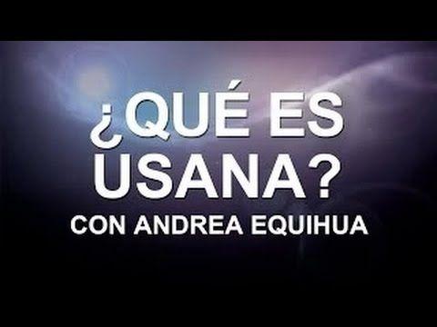 Andrea Equihua: Salud y Libertad [ESPAÑOL] USANA MEXICO   US-Spanish   C...