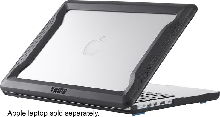 "Thule - Vectros Bumper Case for 13"" Apple® MacBook® Pro with Retina display - Black"
