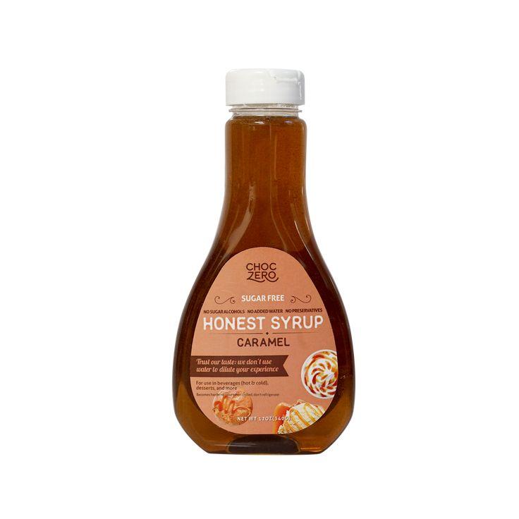Caramel sugar free syrup keto low carb caramel syrup