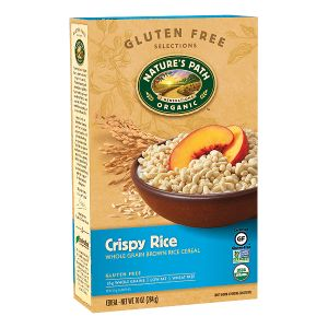GF Crispy Rice Cereal | Nature's Path (has small amount of molasses as last ingredient, but should be tolerated by most)
