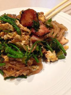 Tofu And Broccolini Pad See Ew Recipes — Dishmaps