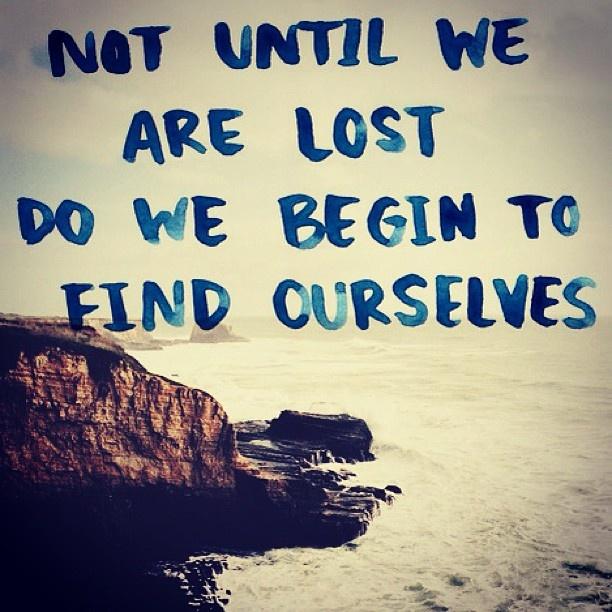 ...get lost...