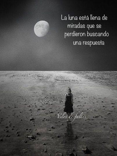 La luna está llena de miradas... - http://www.fotosbonitaseincreibles.com/la-luna-esta-llena-miradas/