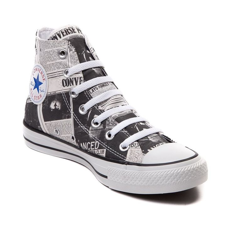 Converse All Star Newspaper Hi Sneaker