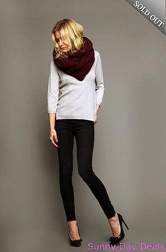 Black Orchid Jeans Amber Skinny Zipper Ankle Ebony BO272EDO 5 Pocket Black 30  #BlackOrchid #SlimSkinny