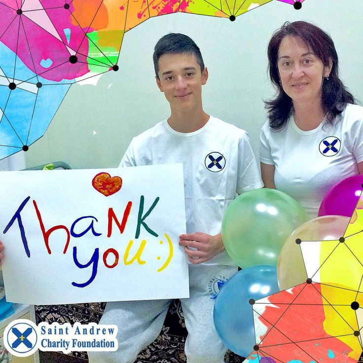 Thank you for staying with us! Good hearts are capable of great deeds!  #thankyou #charity #foundation #fund #StAndrew #kids #kid #child #lovely #love #beautiful #life #children #childrenphoto #family #happy #smile #familytime #goodness #kidsinneed #savelives