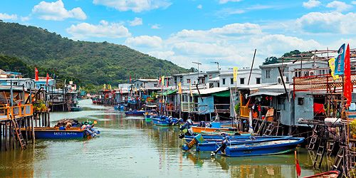Tai O http://www.discoverhongkong.com/eng/see-do/great-outdoors/outlying-islands/lantau-island/tai-o-stilt-houses.jsp