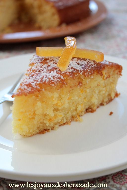 fondant à l'orange , gateau à l'orange facile
