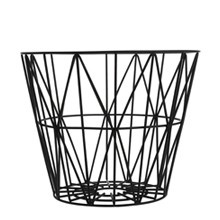 Wire Basket Medium - Black
