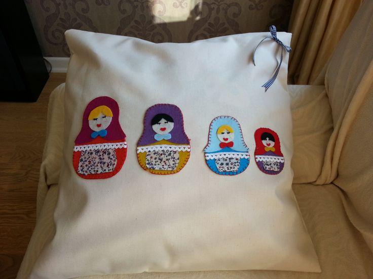 Matruska cushion