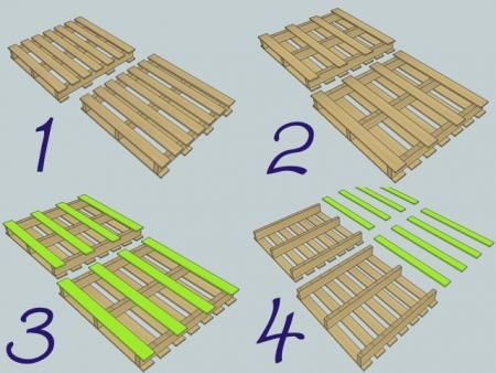 Step by step instructions for pallet bookshelf http ana for Diy pallet projects with instructions