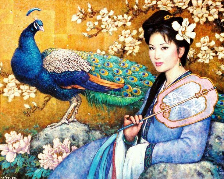Αποτέλεσμα εικόνας για women in chinese paintings