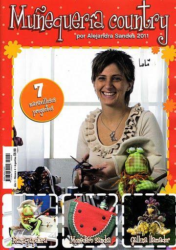 MUÑEQUERÍA COUNTRY_4 de 2011. Por Alejandra Sandes.  Álbumes web de Picasa _Marcia M.