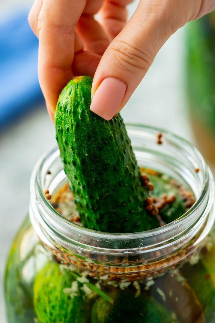 Half Sour Pickles - New York Crunchy pickles recipe ...