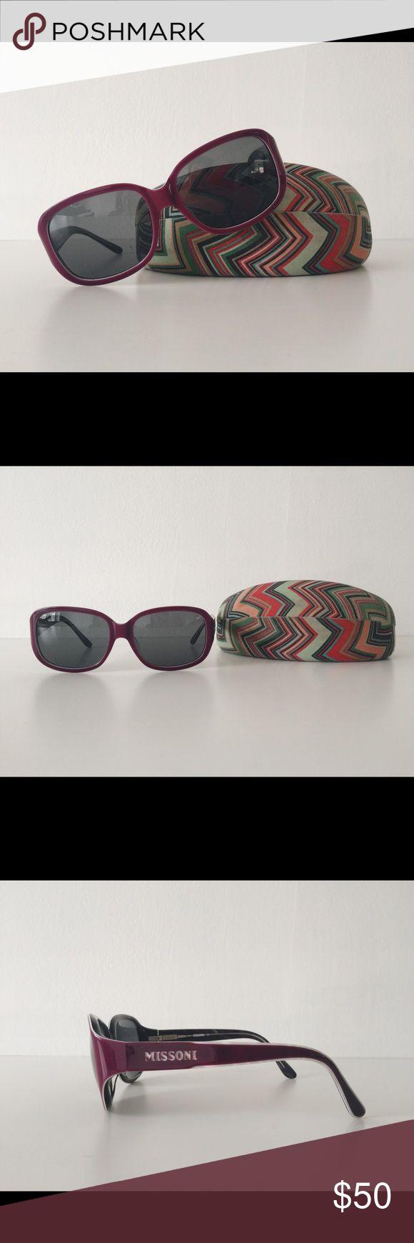 Missoni Sunglasses Missoni sunglasses in EUC. Comes with case. Missoni Accessories Sunglasses