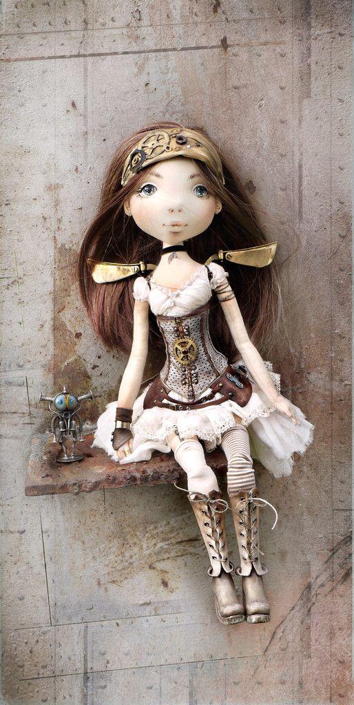:: Crafty :: Doll :: Steampunk ~ Куклы и игрушки ручной работы Яхиной Яны. - Авторские игрушки YanasToys