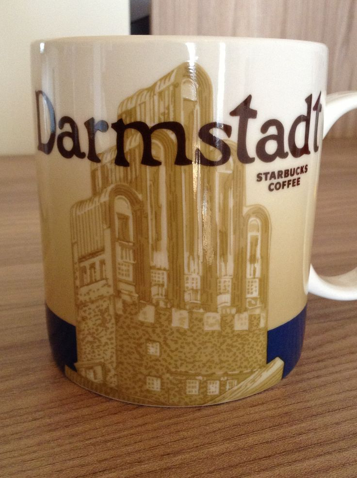 Darmstadt Starbucks City Mug