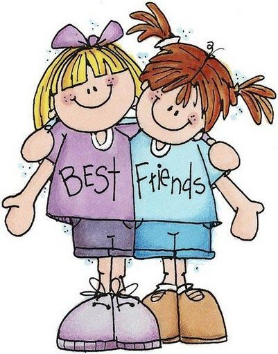Pin By Lourdes Diaz On Hugs, Abrazos  Friends Clipart -9109