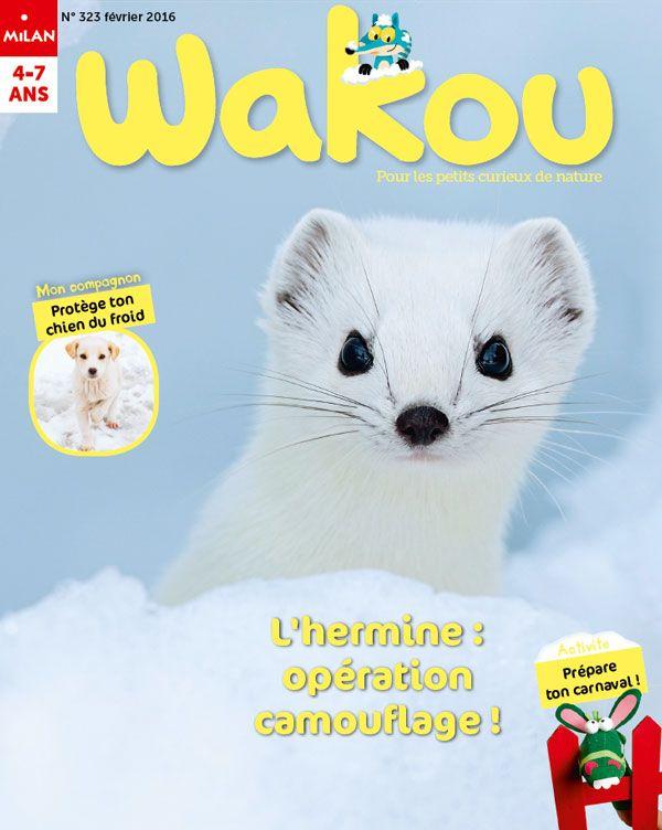 Abonnement Magazine Enfant - Animaux Nature Environnement - magazine 4 ans - Wakou magazine