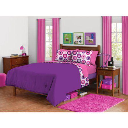 Bedroom Sets For Girls Purple 17 best bed images on pinterest | damask bedding, girls bedroom