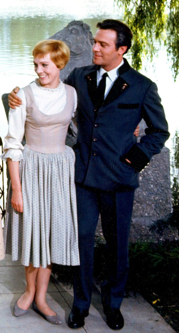 Julie Andrews & Christopher Plummer ~ The Sound of Music, 1965