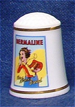 BERMALINE BREAD THIMBLE FRANKLIN MINT
