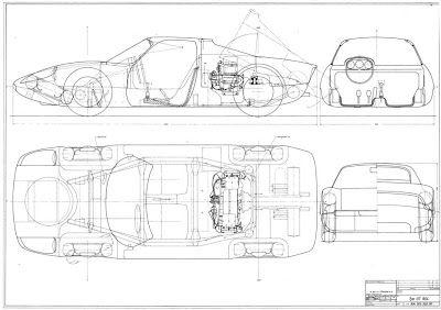 Gmund Brokerage: Porsche 904 Blueprint