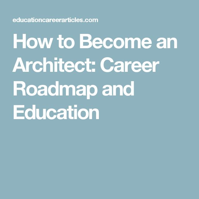 25+ ide terbaik Architect career di Pinterest Mengubah interior - architect job description