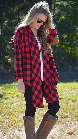 Lumberjack chic? Yeah, it's a thing. $44 at shopbluedoor.com
