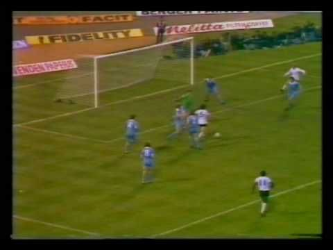 Ricky Villia 1981 FA Cup Final Replay Tottenham Hotspur v Manchester City match-winning goal.