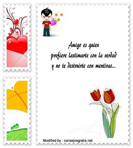 mensajes bonitos de amistad, enviar mensajes de amistad,mensajes de amistad para facebook : http://www.consejosgratis.net/frases-de-amistad-para-whatsapp/