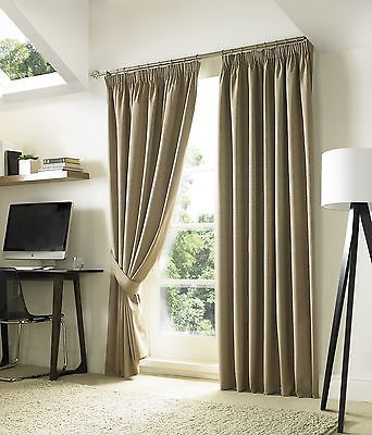 Natural-Beige-Blackout-Curtains-Luxury-Lined-Pencil-Pleat-Curtains-9-Sizes