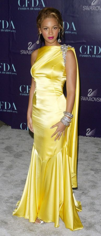 Dubai Yellow Gown And Beyonce Dresses On Pinterest