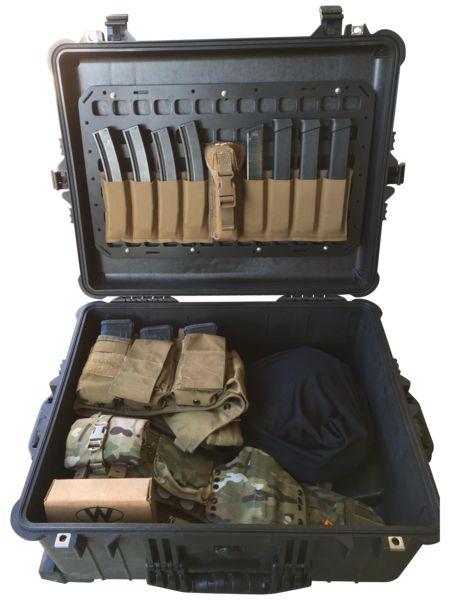Rigid Insert Panel MOLLE (RIP-M) - 13in x 21.25in Grey Man Tactical www.greyman-tactical.com Pelican Case Lid Organizer