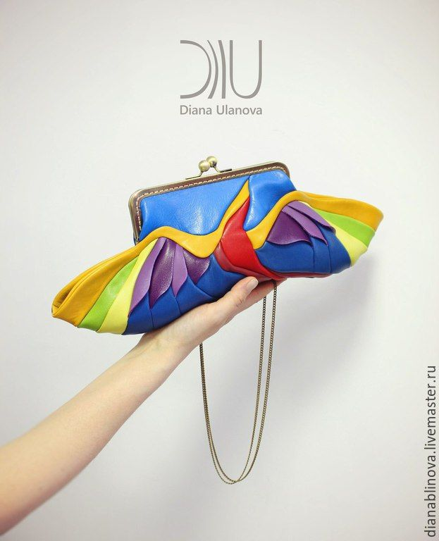 Купить Райская Птичка - разноцветный, рисунок, Красивая сумка, необычная сумка, подарок женщине