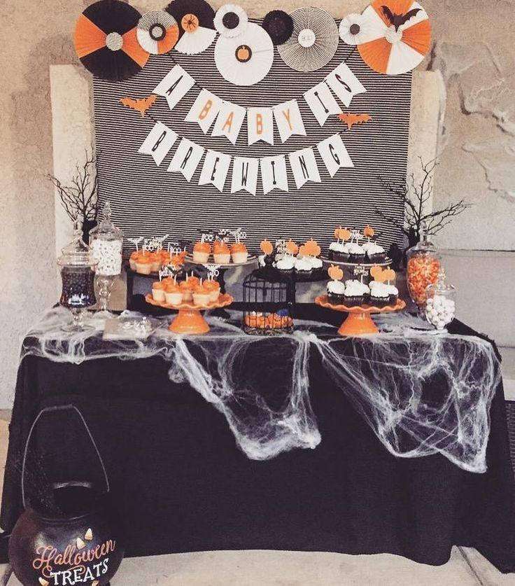 20 Spooktacular Halloween-Themed Baby Shower Ideas | CafeMom