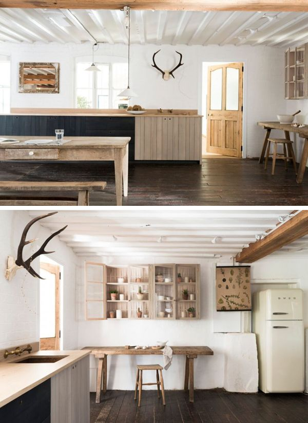 A BEAUTIFUL MODERN RUSTIC COUNTRY KITCHEN | THE STYLE FILES