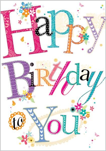 Card Ranges » 3805 » Happy Birthday to You - Abacus Cards - Greetings Cards, Gift Wrap & Stationery