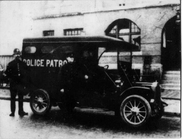 Vancouver Police patrol van, year unknown
