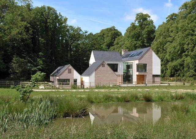 Contemporary design for a country house