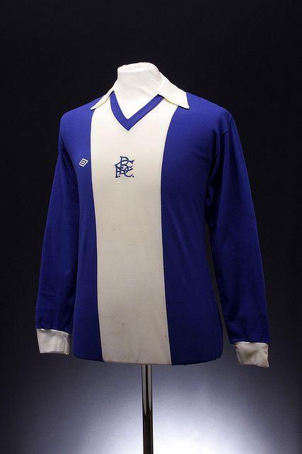 Birmingham City Football Shirt (1975-76, home)..... a young Trevor Francis
