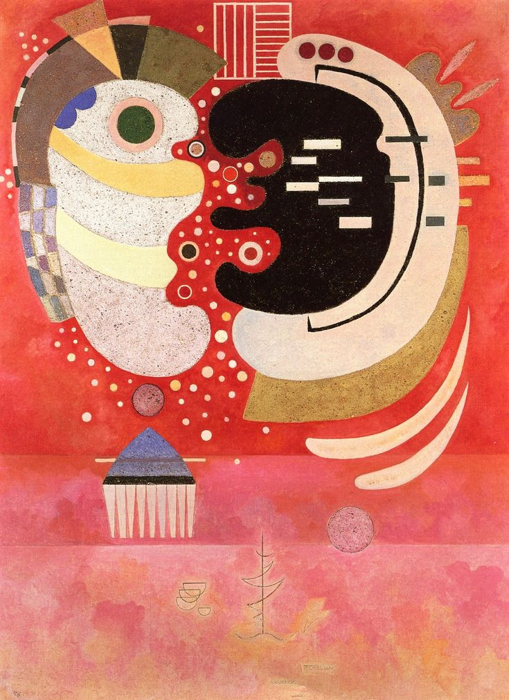 In Between - Wassily Kandinsky, 1934
