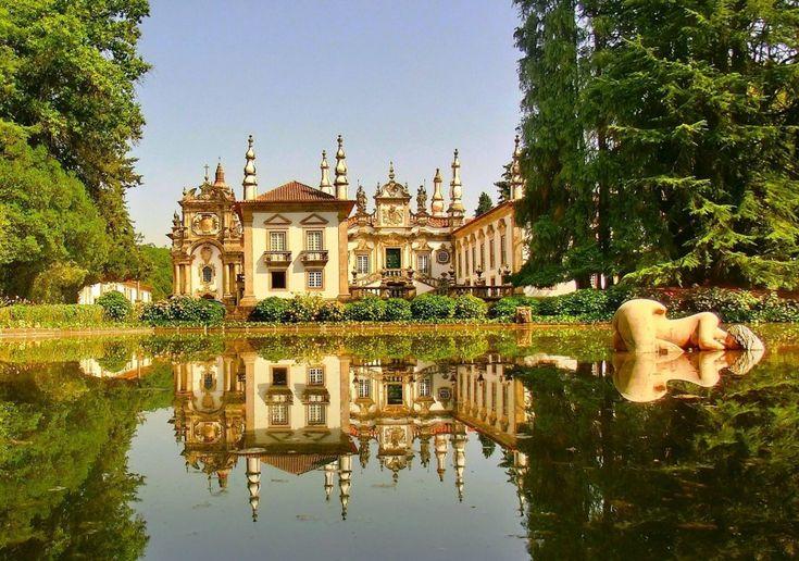 Palácio de Mateus, Vila Real, Portugal ♥   ©