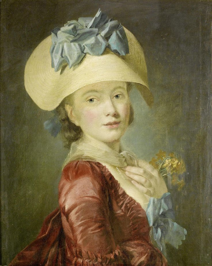 Henri-Pierre Danloux (attributed, 1753 - 1809) - Portrait of a young lady