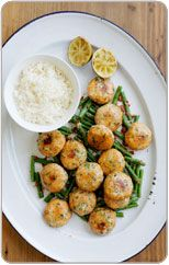 Thai Fish Cakes with Wok Cooked Beans