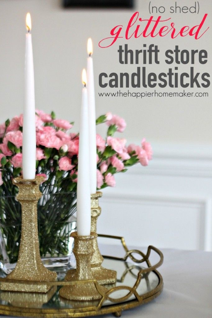 Best Candles Candle Holder DIYs Images On Pinterest - Cool diy spring candles and candleholders
